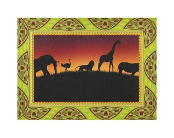 Placemat Sets African Safari