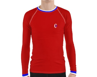 Men's Rash Guard Sports Canadien 31