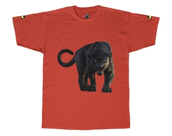 Unisex Adult Tee Black Panther