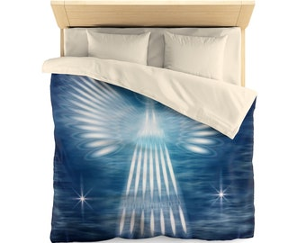 Microfiber Duvet Cover Guardian Angel