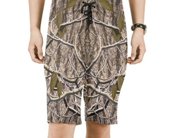Men's Timberleaf Camouflage Board Shorts