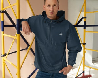 Embroidered Champion Packable Jacket Hockey