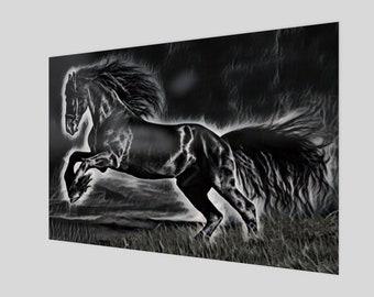 Smokey Black Stallion Art