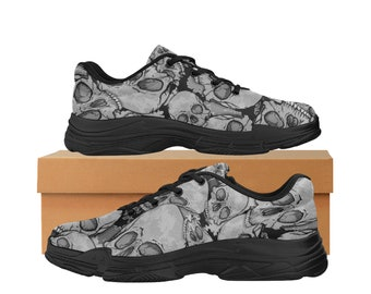 Men's Lyra Running Shoes Skull Pattern