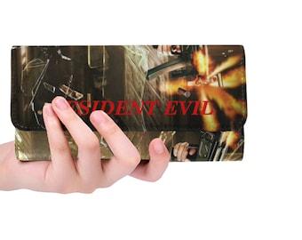 Women's Trifold Wallet Resident Evil