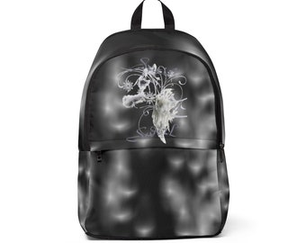 Unisex Fabric Backpack Satin Swirl