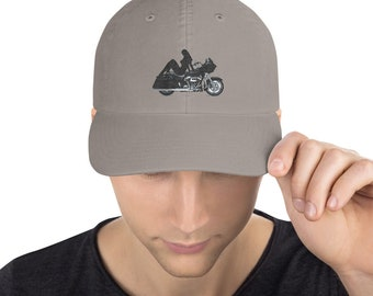 Champion Dad Cap Motorcycle Babe