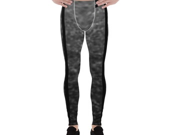 Men's Training Leggings Stone Black