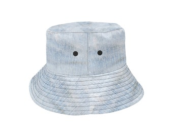 Bucket Hat Denim Blue Wash