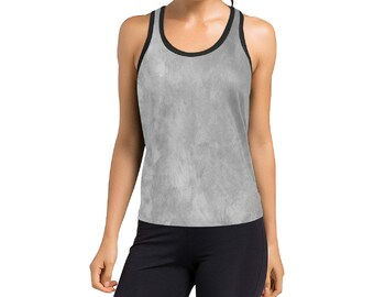 Women's Racerback Grey Wash