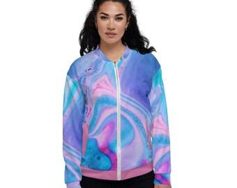 Women's Bomber Jacket Unicorn