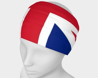 Uk Flag Design Headband