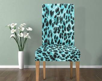 Chair Slip Cover Leopard