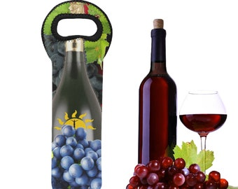 Neoprene Wine Bag Single Bottle