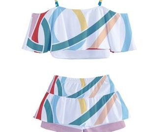 Girl's Tankini Swim Set