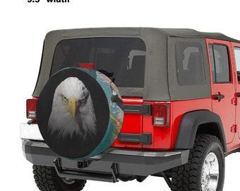 Spare Tire Cover Eagle Print