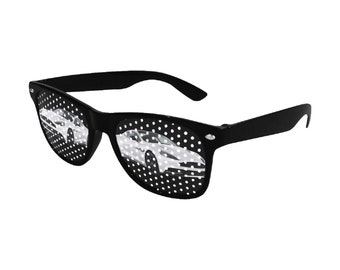 Perforated Designed Sunglasses Sportcar