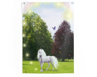 Unicorn Indoor Wall Tapestries