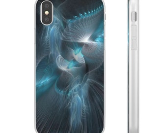 Flexi Cases Iphone Angel Blue