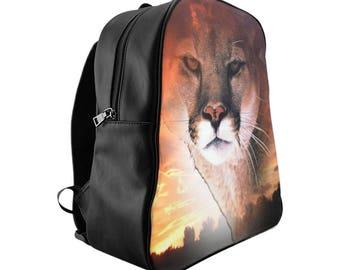 School Backpack Cougar Sky