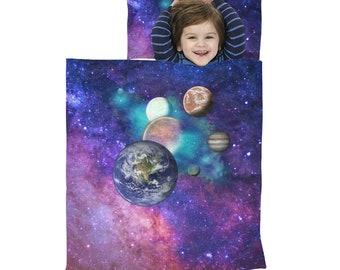 Kid's Sleep Wrap Galaxy