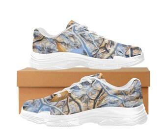women's Lyra Running Shoes Camo Blue
