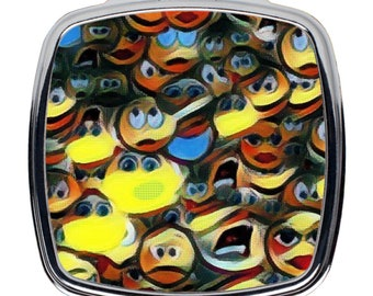 Compact Mirrors Emoticon