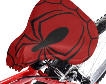 Bicycle Seat Cover Spider