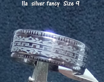 Fancy Stainless Steel Ring Bands