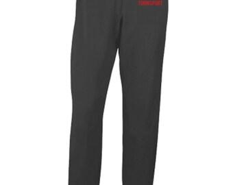Women's Gildan Open Bottom Fleece Pants