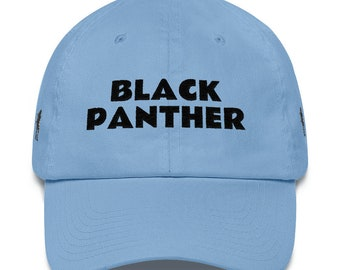Cotton Cap Black Panther
