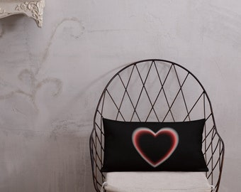 Stylish Designed Premium Pillow Heart Eclipse