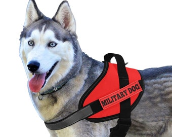 Service Dog Military Harness Set