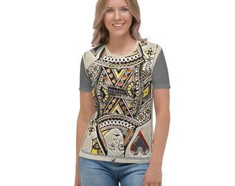 Women's T-shirt queen Heart