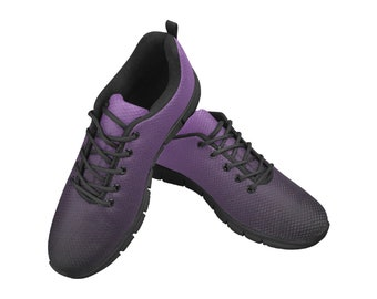 Women's Breathable Running Shoes Purple Blend