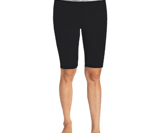 Women's Knee Length Compression Shorts