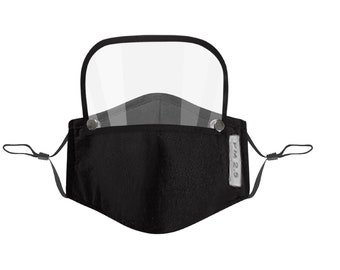Face Mask With Eye Shield