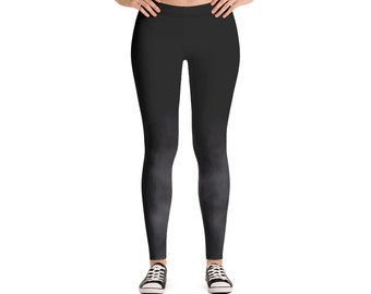Woman's Leggings Black Smoke