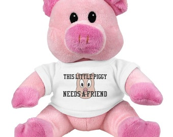 Piggy Needs A Friend Plush Toy