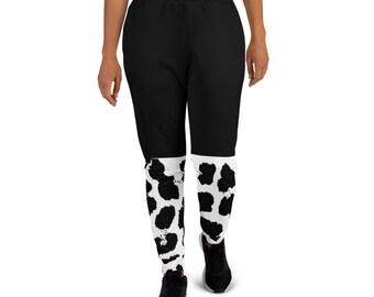 Women's Joggers Leopard Black