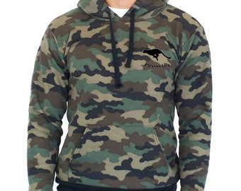 Unisex Camouflage Pullover