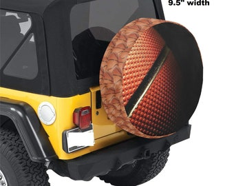 Spare Tire Cover Basketball Print