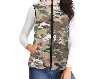 Women's Padded Vest Camouflage