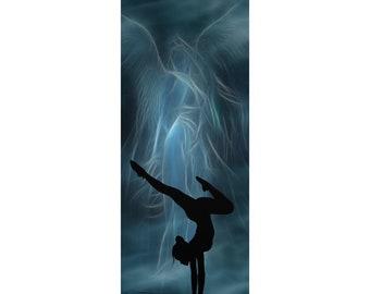 Yoga Mats Blue Angel