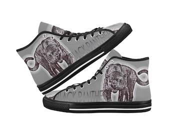 Men's Canvas Hi Top Shoes Panther