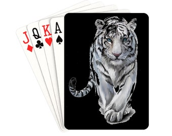 Playing Cards Tiger
