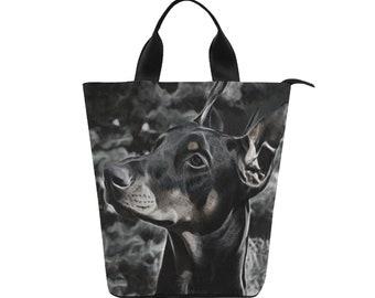 Lunch Bag Doberman
