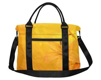 Large Square Duffel Bag Daffodil