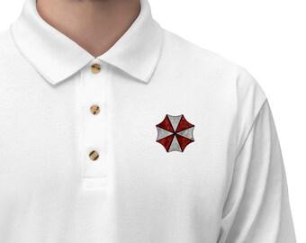 Men's Jersey Polo Shirt Umbrella