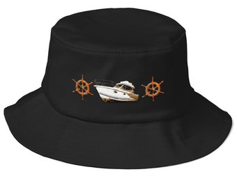 Old School Bucket Hat Yacht